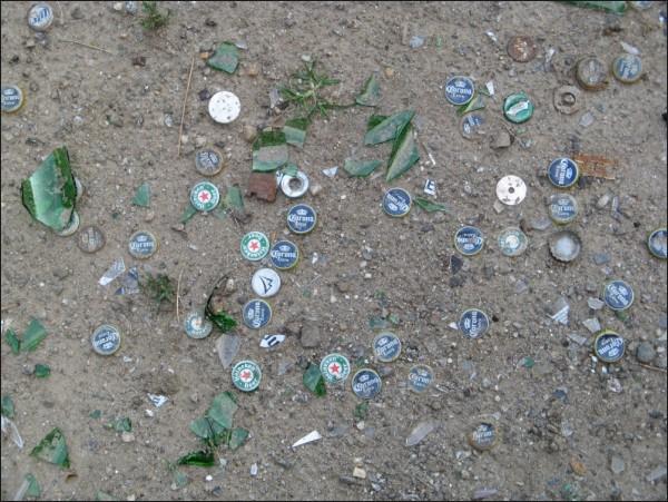 Bottlecaps, New York, NY. 07/2007