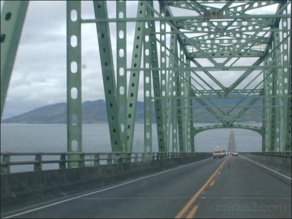 Astoria bridge, Astoria, OR. 09/2003.