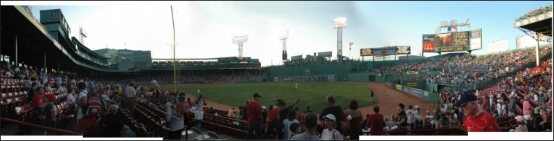 Fenway in September, Boston, MA. 09/2005.