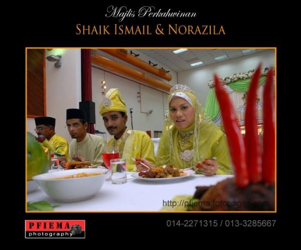 Majlis Perkahwinan Shaik Ismail & Norazila