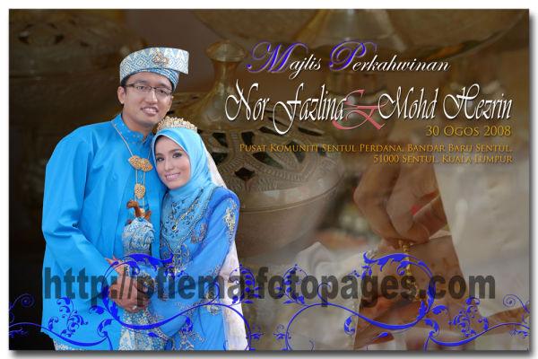 D'Album Nor Fazlina & Mohd Hezrin