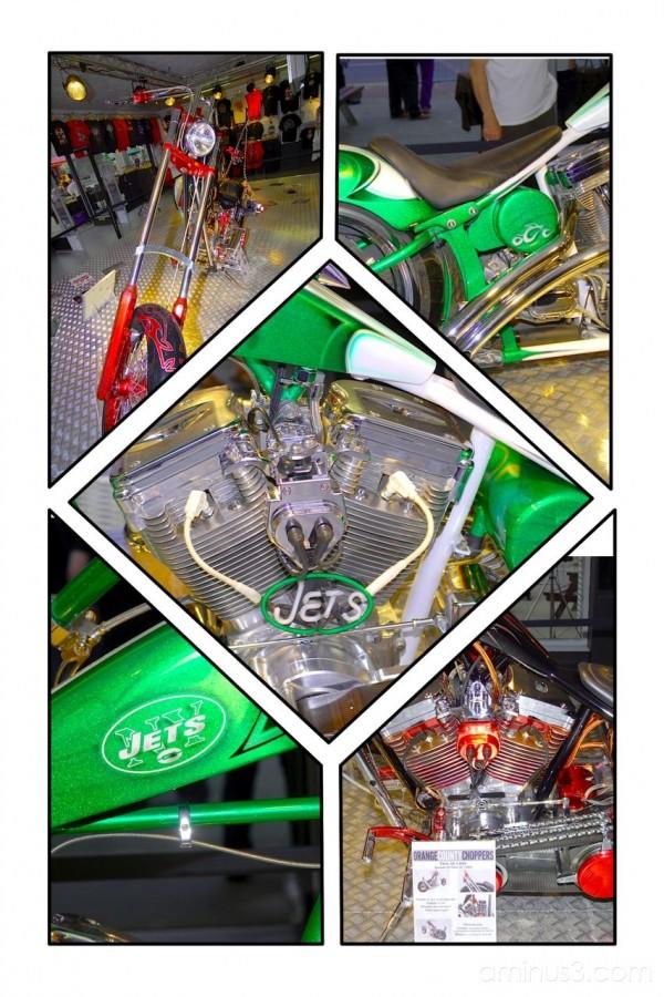 Montage of OCC bikes