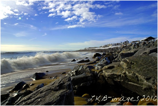 Rocks on Coast - Colour Version