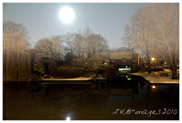 Moonlight Pauls Ferry ~ Norwich