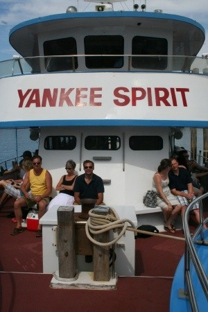 """Whale Looking"" on the Yankee Spirit"