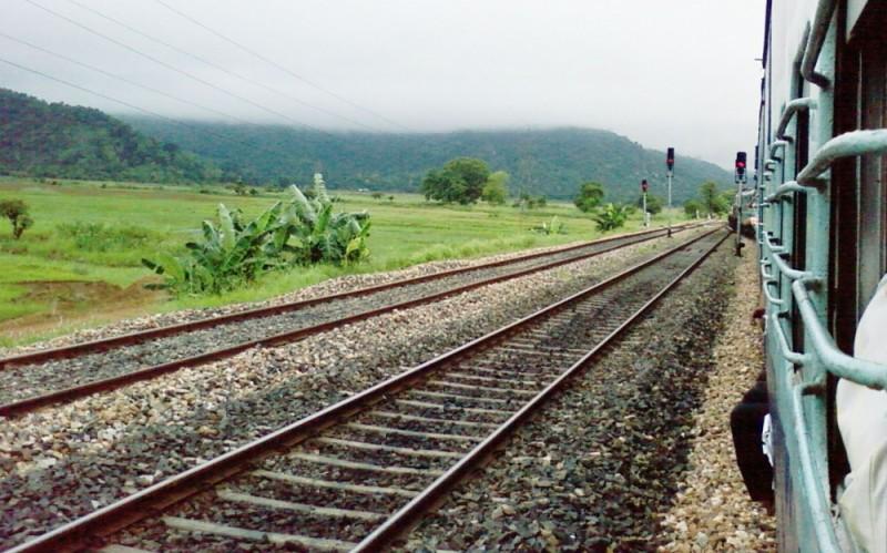 Journey to Guwahati by Train
