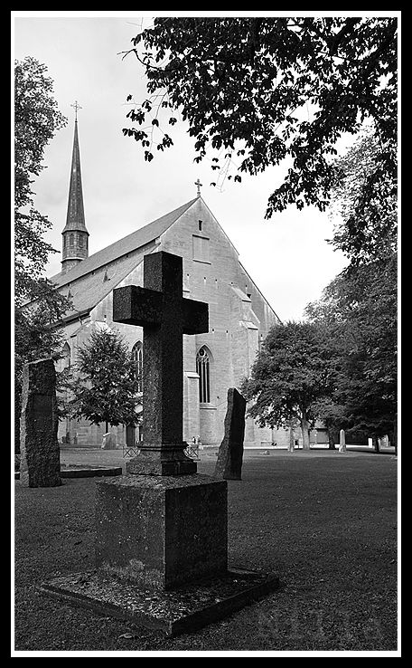 the abbey church of VADSTENA, Sweden