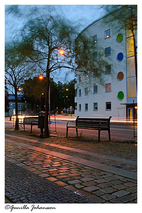 night in Eskilstuna