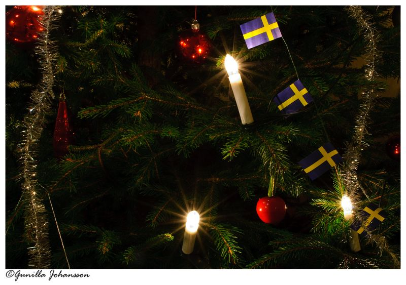 Merry Christmas from Sweden