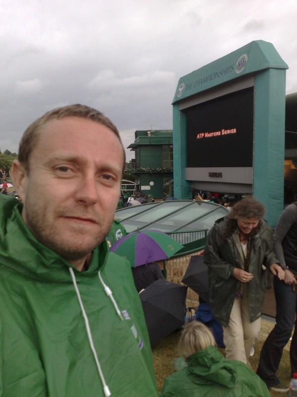 A bigmouth at Wimbledon 2008