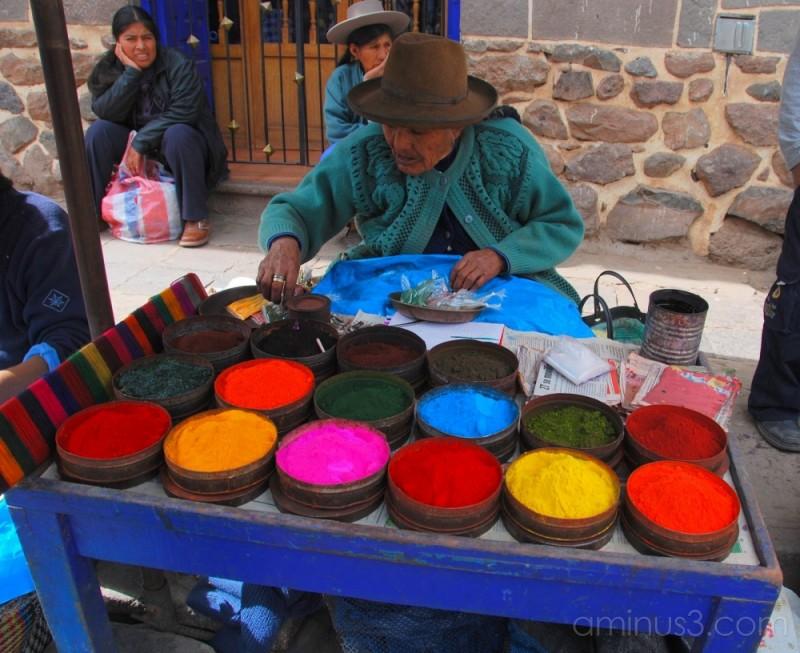 Andian Dye Market