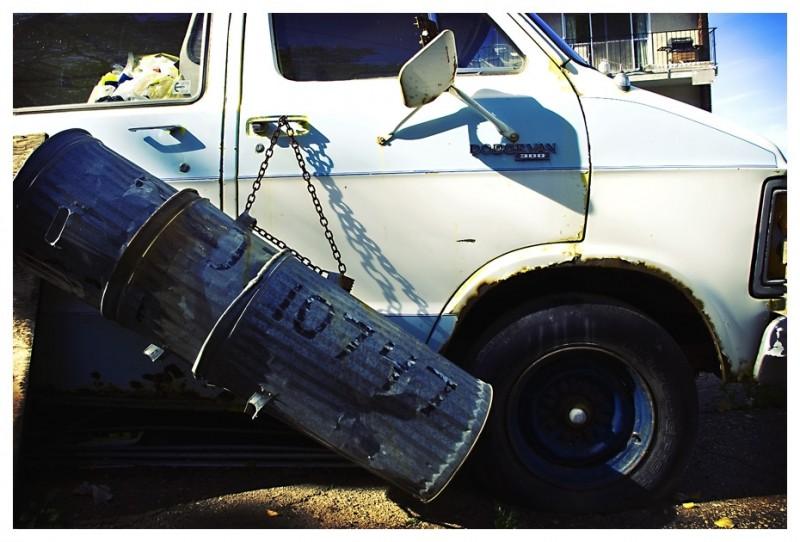 Redneck Garbage Truck