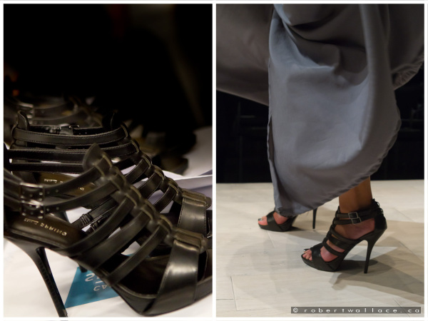 Shoes on a Runway