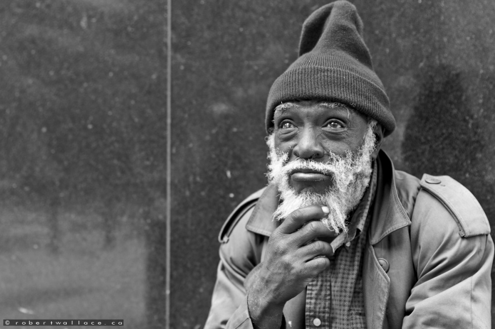 Homeless at Five Points