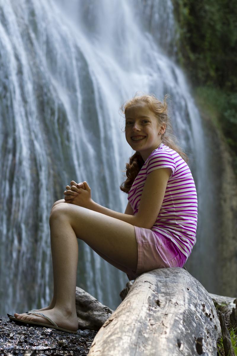 Beauty at Bridal Veil Falls