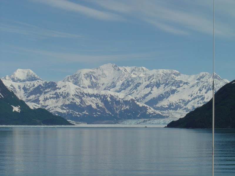Near Hubbard Glacier