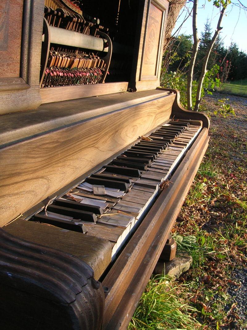 I came upon a piano
