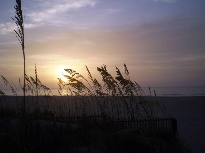 Sunrise on Canaveral Beach