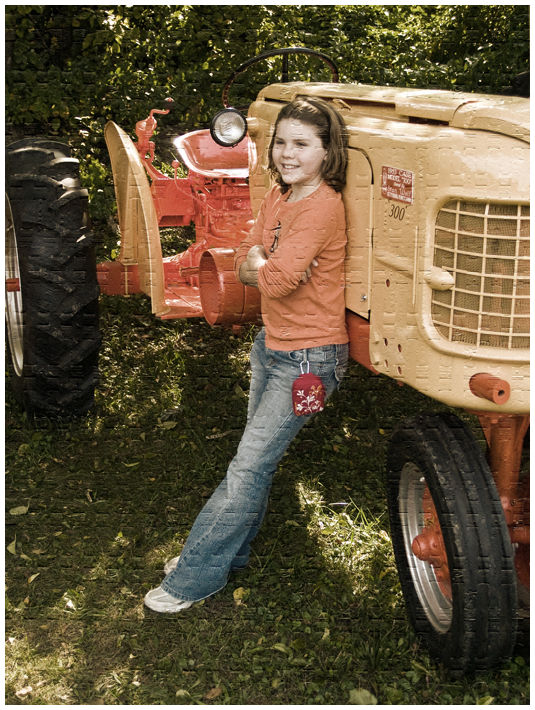 Liv with Tractor