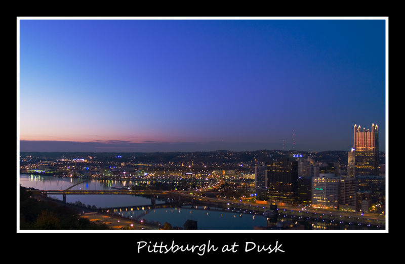 Pittsburgh at Dusk