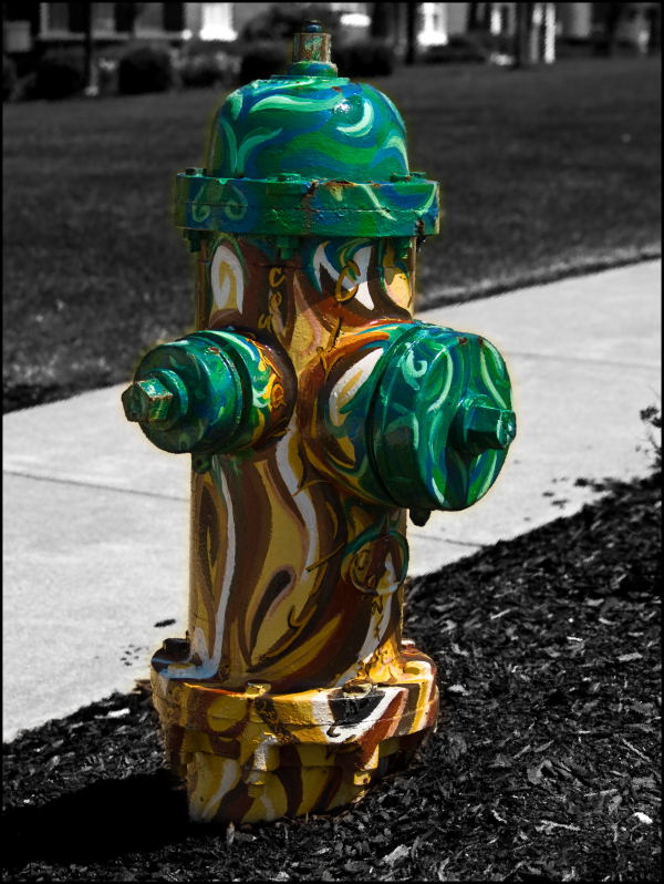 California University Fire Hydrant