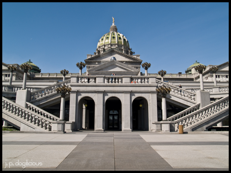 East Plaza of the Pennsylvania State Capitol