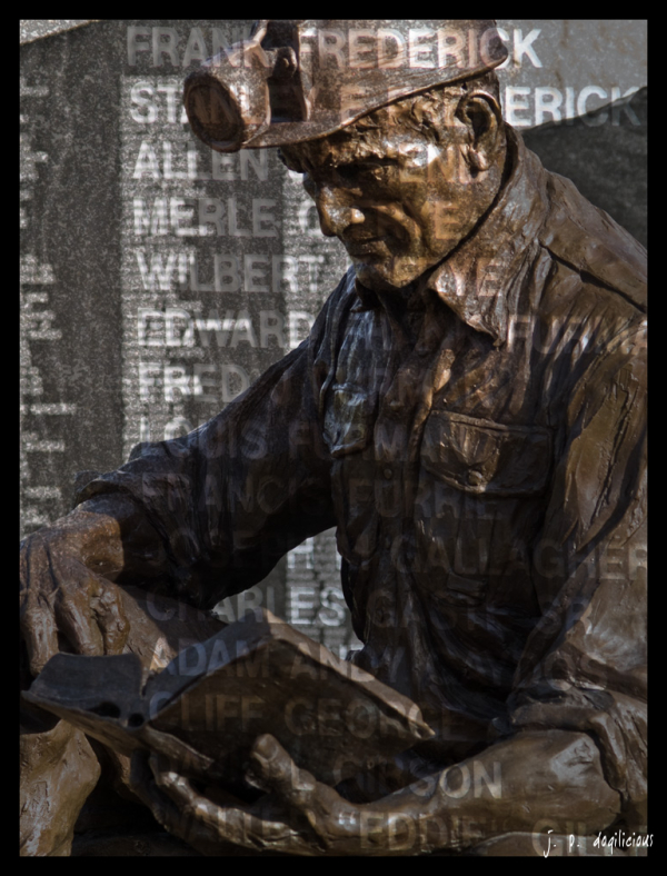 coal miner memorial