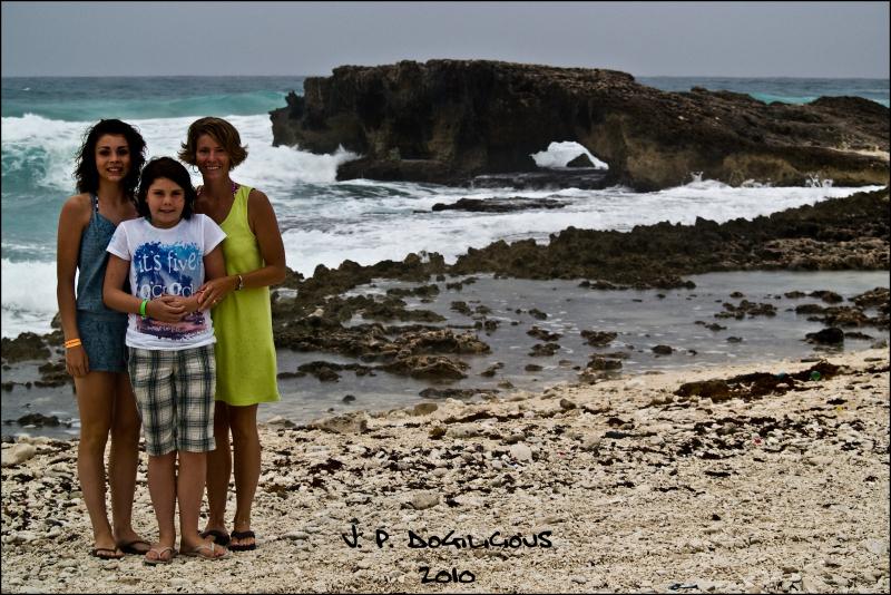 Cold in Cozumel