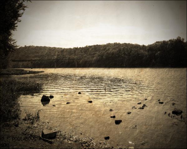Vintage Juniata River