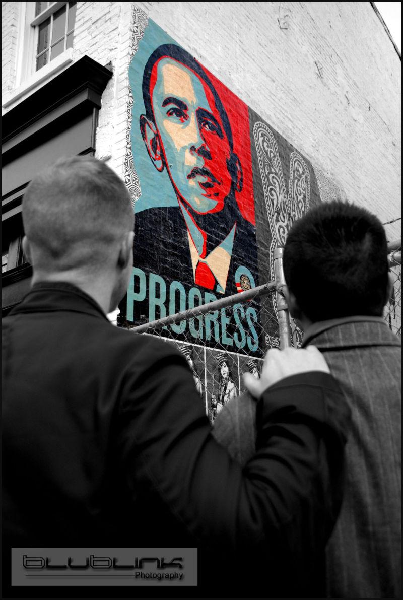 Social Progress Obama U Street Washington DC