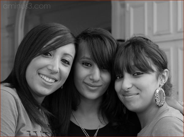 Nadia et ses amies