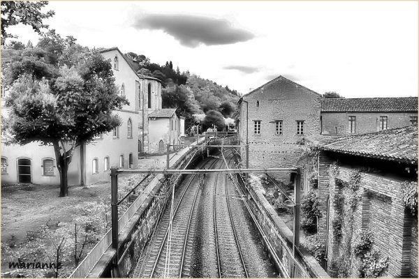 ...  entre deux trains, l'attente ...