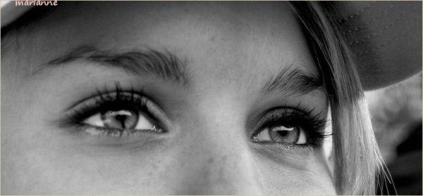 ... les yeux de Louise ...