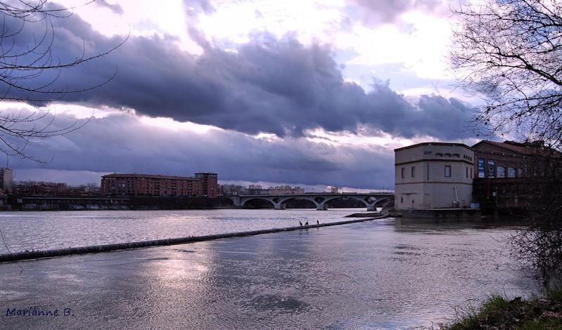 Menace sur la Garonne ...