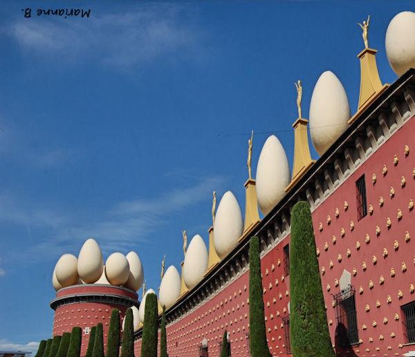 Musée Dali, après la sangria ....