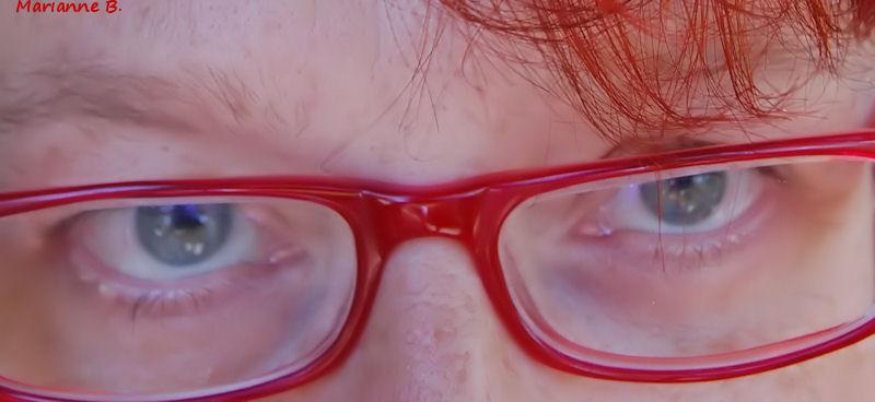 Mes lunettes rouges .... Le défi de Lô...