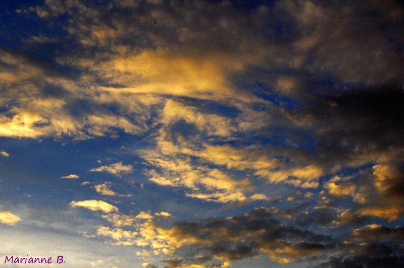 Encore un peu, sur ce nuage ...