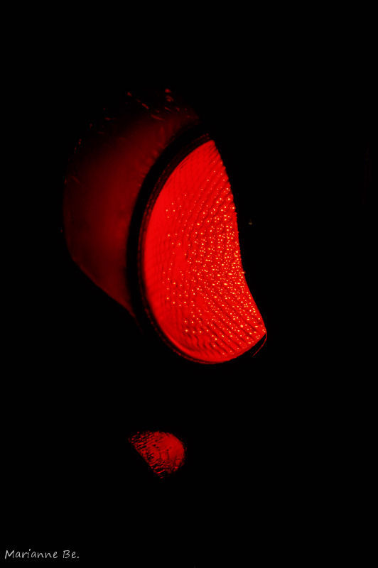 Soleil rouge ...