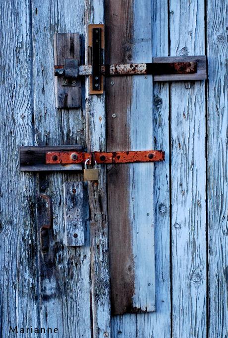 La clé sur la porte ...