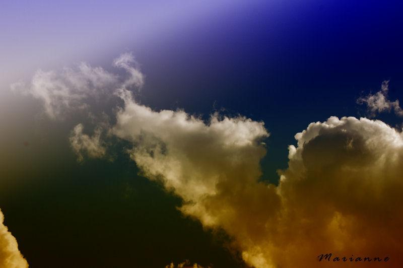 dessine moi un nuage ...