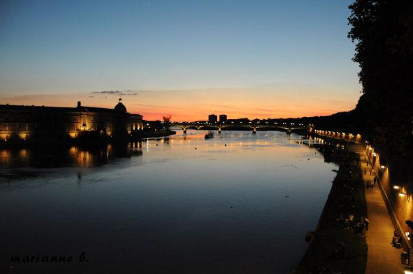Les feux de ma ville, Toulouse la nuit ...