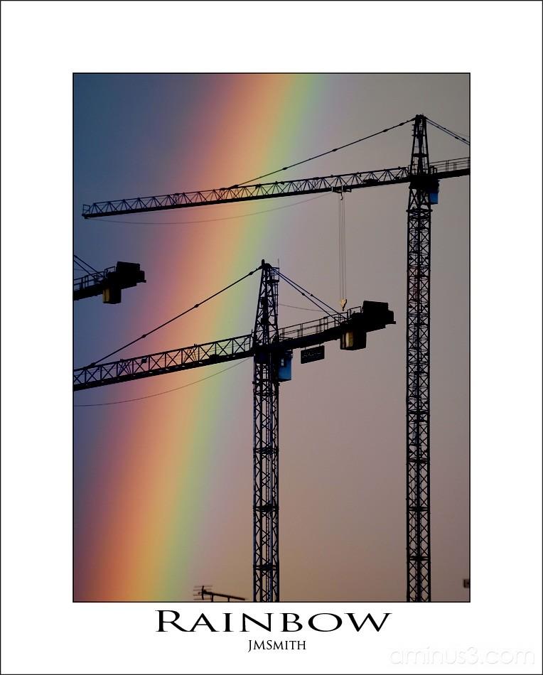 Rainbow in Barnsley
