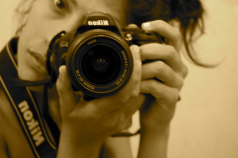 This is my camera. This is me.