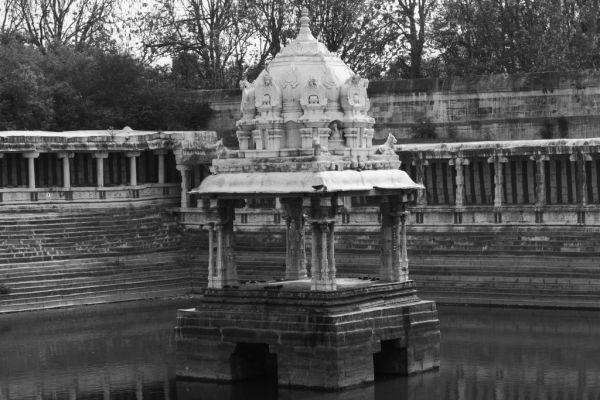 Temple pond