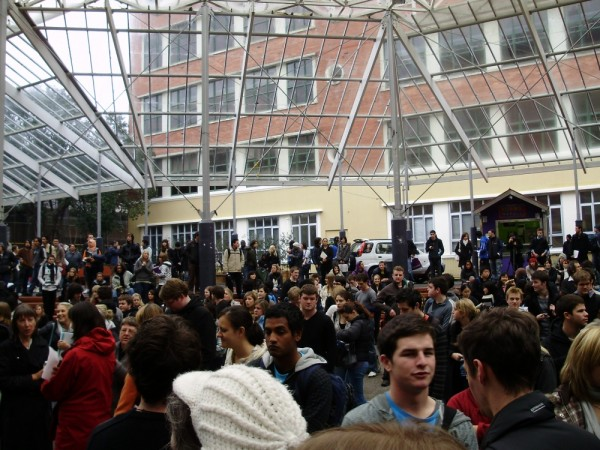 Fire Evacuation Of the Library