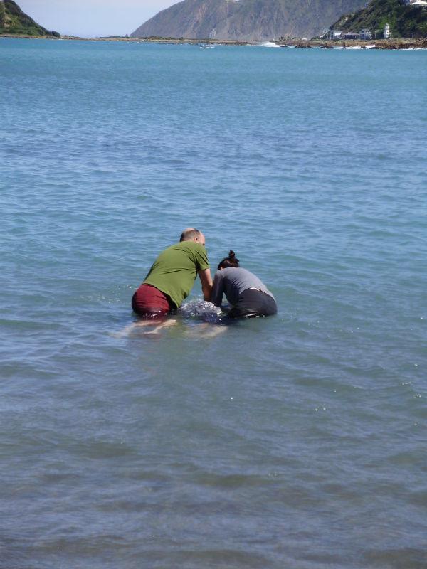 Joel's Baptism