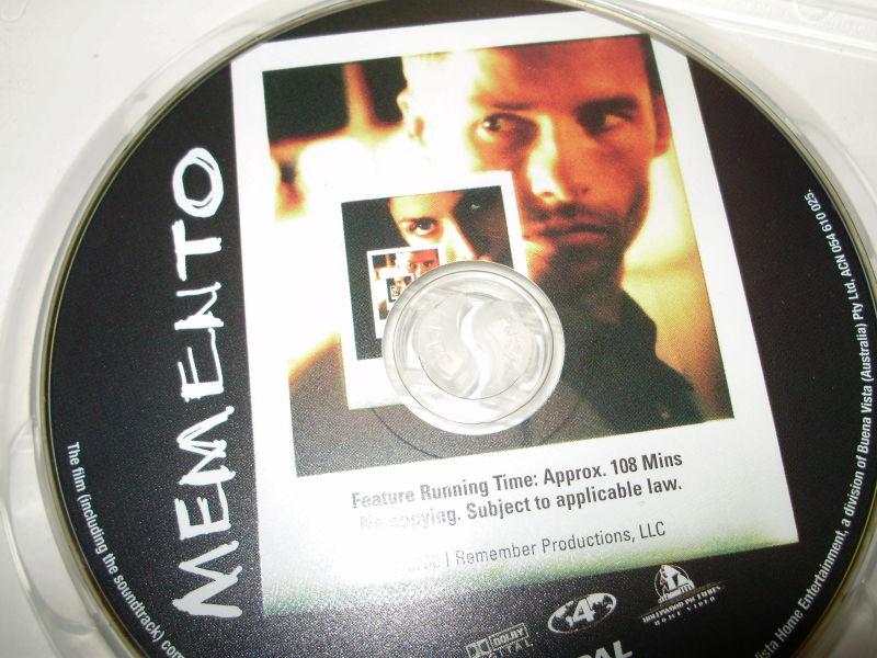 Memento...TRIPPY...but quite cool