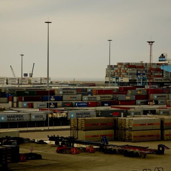 Zeebrugge Belgium Port Containers