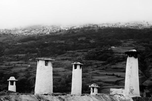 Chimney Las Alpujarra, Andalucia Spain