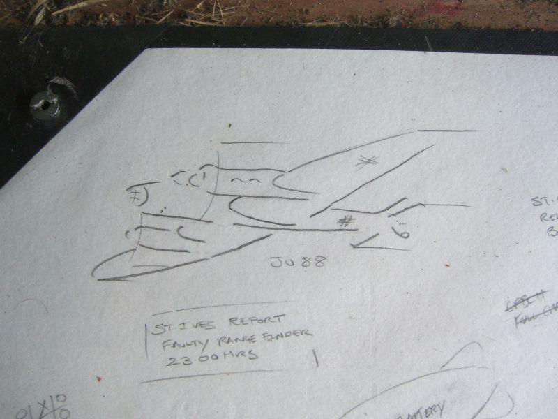 Bomber sketch